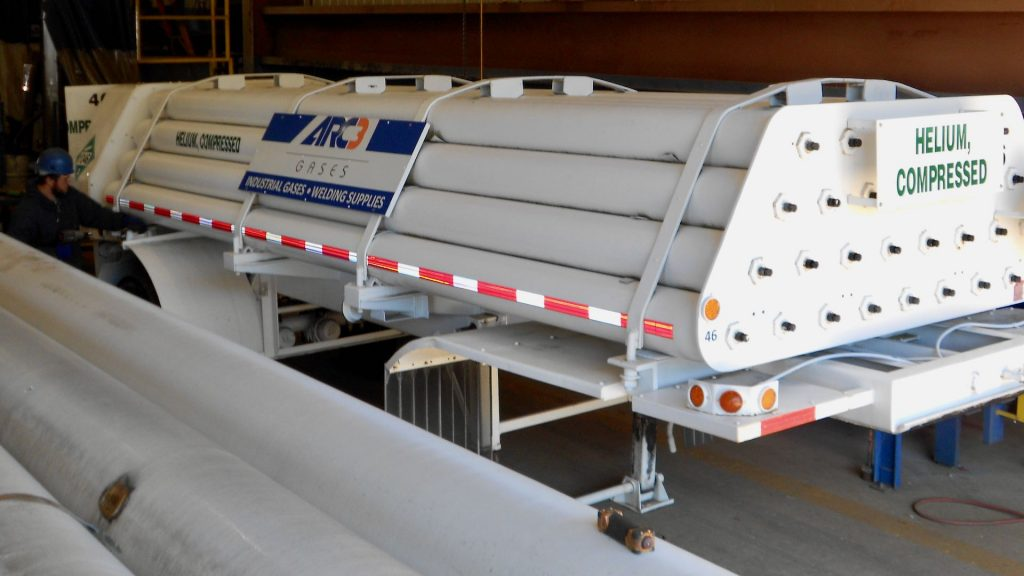 BKC Industries - Compressed Helium Tube Trailer - ARC3 Gasses